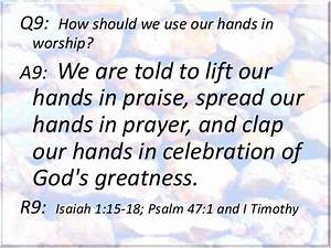 Foundation Stone #07: Laying On Hands to Bless