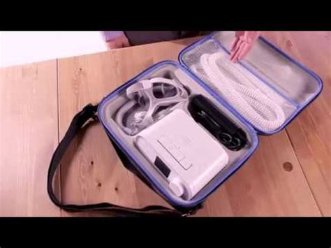 Introduction to the DreamStation CPAP Travel Case ...