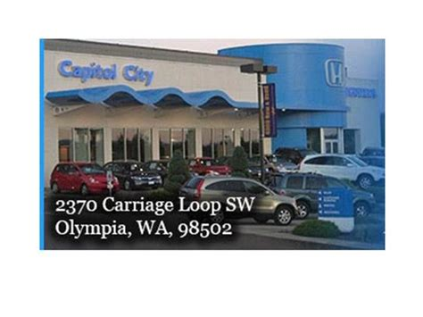 capitol city honda olympia wa information  usa