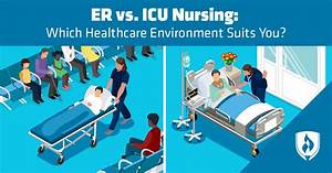 Chain Link Chart Er Vs Icu Nursing Which Healthcare Environment Suits You