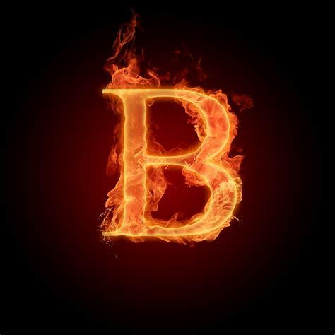 Huruf A sampai Z dengan Elemen Api Wallpapersforfree