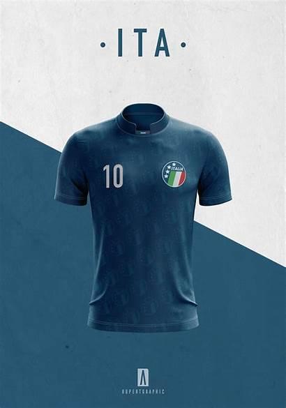 Classic Rivalry Italy Germany Shirts Behance