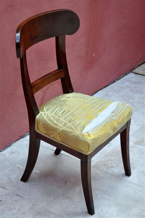 early 19th century german biedermeier chair for sale