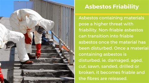 friable asbestos  friable asbestos guide
