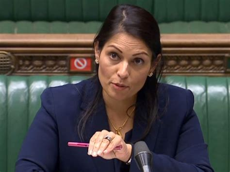 UK minister Priti Patel calls for crackdown on racist ...