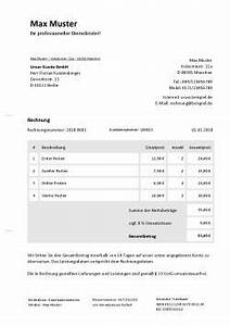 Rechnung Kleinunternehmer Ohne Mehrwertsteuer Vorlage : rechnung kleinunternehmer online schreiben vorlage ~ Haus.voiturepedia.club Haus und Dekorationen