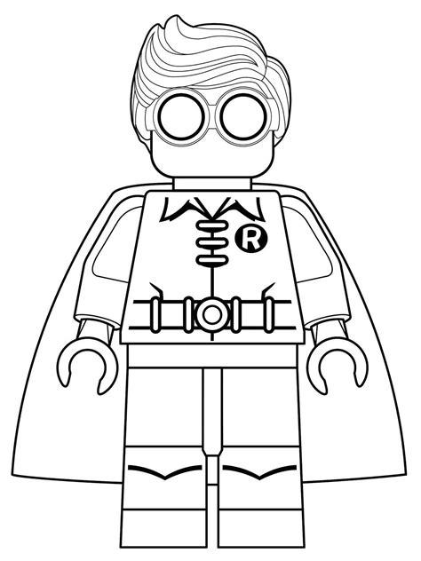 Kleurplaat Batman En Robin by Kleurplaten En Zo 187 Kleurplaten Lego Batman