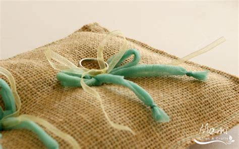 Cuscini Portafedi Fai Da Te Mami Chips Crafts Come Realizzare Un Cuscino Portafedi