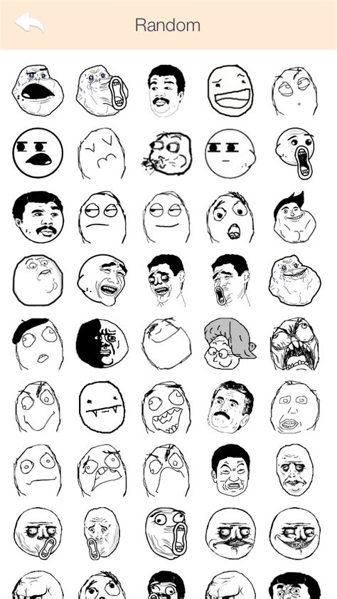 app shopper ifunny rages troll faces stickers