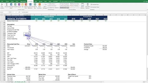 Discounted Cash Flow (dcf) Model
