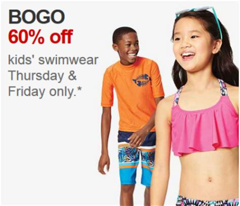 42355 Target Swimwear Coupon Code by Target Buy One Get One 60 Swimwear All