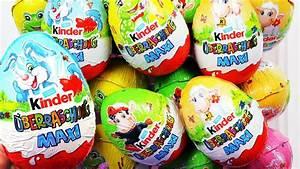 Kinder überraschung Maxi : frohe ostern kinder berraschung maxi 12 eier unboxing youtube ~ Eleganceandgraceweddings.com Haus und Dekorationen