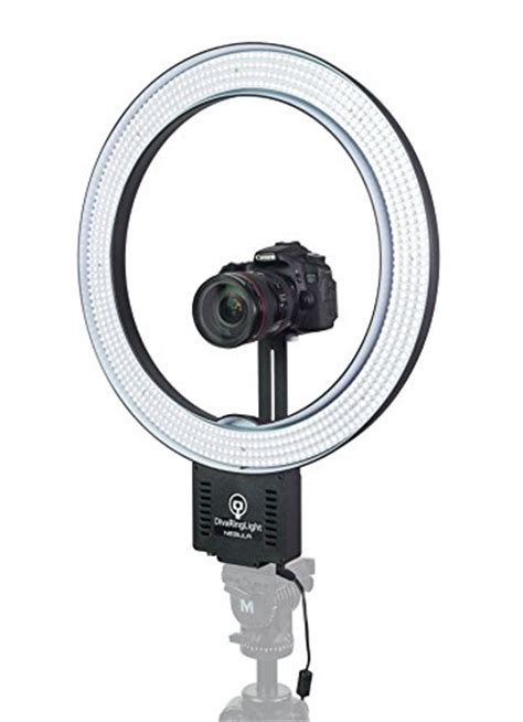 diva ring light nebula diva ring light nebula 18 quot led dimmable ring light buy