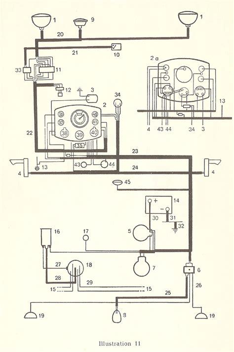 1993 Vw Beetle Wiring Diagram by Thesamba Type 1 Wiring Diagrams