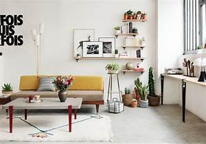 40 idees deco pour le salon elle decoration for Decoration pour le salon