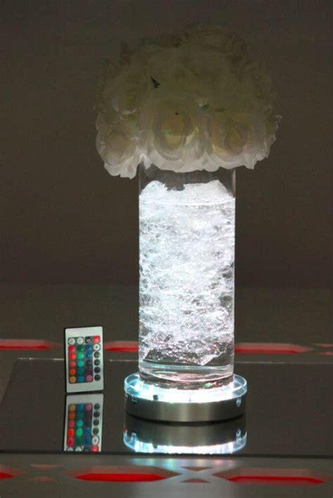 remote control led vase lights basetable light