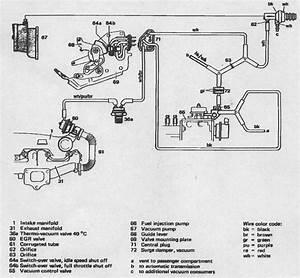 1982 300d Vacuum Lines  Help