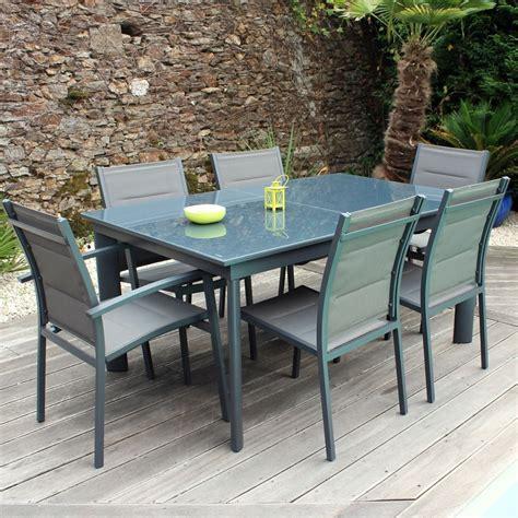 chaises jardin pas cher ensemble table et chaise de jardin en resine pas cher