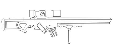 Rail Gun Sniper Lineart By Raptor03 On Deviantart