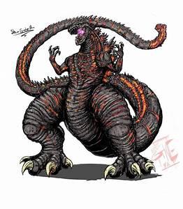 Shin'Godzilla ( NEO variant ) by Gabe-TKE on DeviantArt