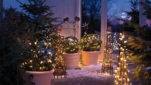 Deco Noel Extrieur Idees Deco Pour Jardin Et Terrasse