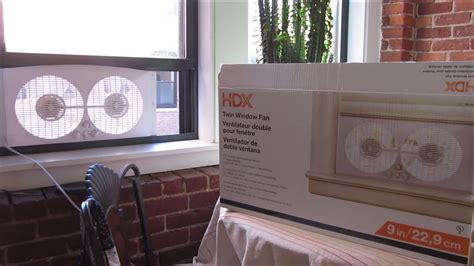 home depot hdx twin window fan review model wdf