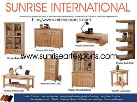 sunrise international indian wooden furniture