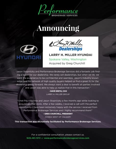 Check spelling or type a new query. Larry H. Miller Hyundai of Spokane Sells to Canadian ...