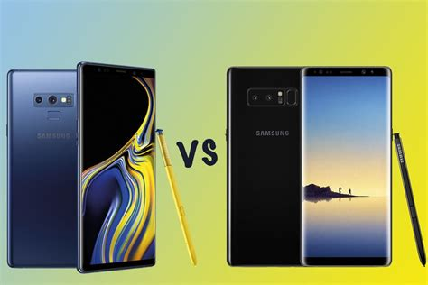 samsung galaxy note 9 vs note 8 what s the difference