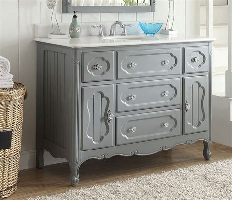 48 Inch White Dresser by Grey Knoxville 48 Inch Vanity Gd 1522ck 48