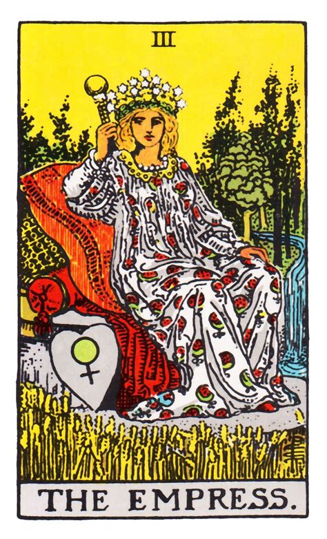 Or does your memory need a quick nudge? Empress ~ Rider Waite | Empress tarot, Empress tarot card, Rider waite tarot decks