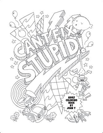 swear word coloring pages  adults  printable