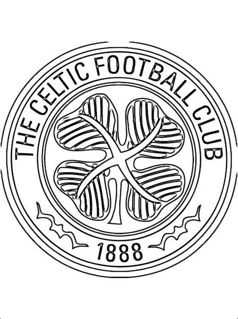 Dortmund Kleurplaat by Coloriage De Logo Celtic Football Club Coloriage 224