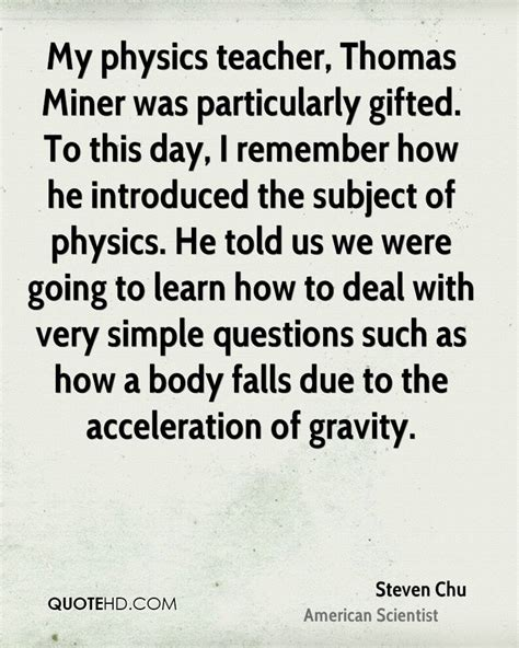 Funny Quotes On Physics Teacher