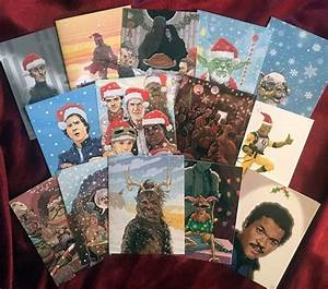 Geeky Xmas Cards By PJ McQuade Feature Iconic Movie Characters