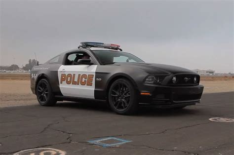 5-0! 2014 Ford Mustang Gt Police Car On World's Fastest