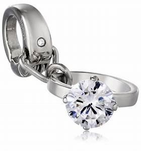 fossil stainless steel engagement ring charm buy online With wedding rings abu dhabi