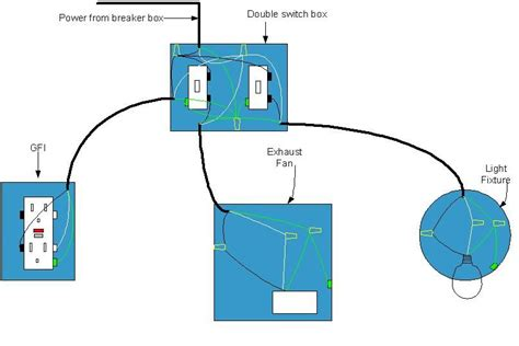 Electrical Diagram For Bathroom Wiring