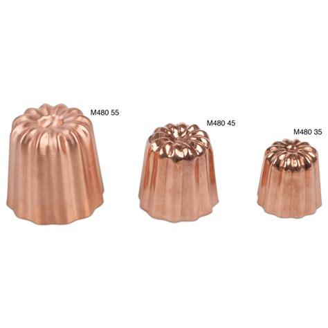 cannele mold copper  diameter jbprincecom