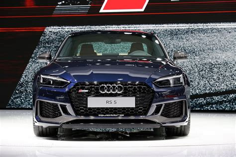2018 Audi Rs5 Coupe Sounds Really Awesome, Is Showing Its