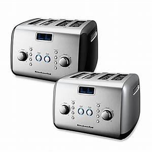 Kitchen Aid Toaster : kitchenaid 4 slice digital motorized toaster bed bath beyond ~ Yasmunasinghe.com Haus und Dekorationen