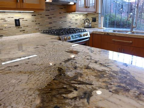 alpine white granite kitchen countertops home