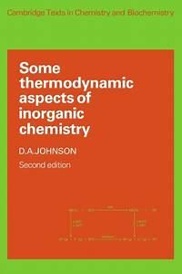 9780521285216  Some Thermodynamic Aspects Of Inorganic