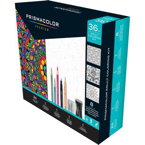 prismacolor adult coloring  pc kit  fiction