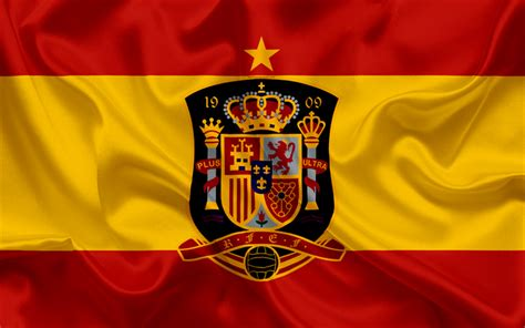 Download Wallpapers Spain National Football Team, Emblem