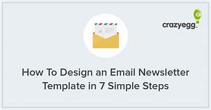 how to design an email newsletter template in 7 simple steps With how to create an email newsletter template