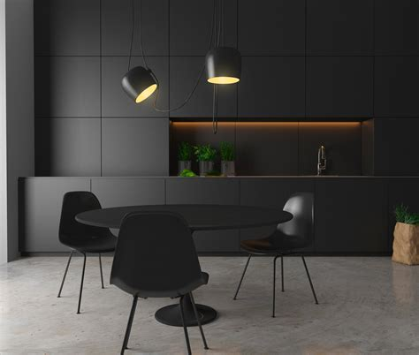 kitchen furniture handles 36 stunning black kitchens that tempt you to go for