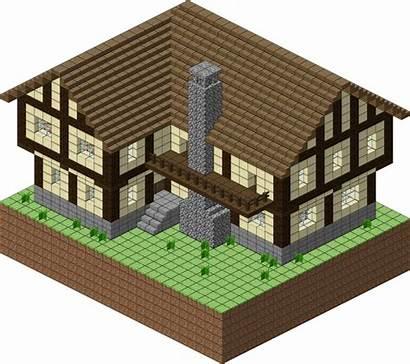 Minecraft Medieval Village Building Deviantart Blueprints Layer