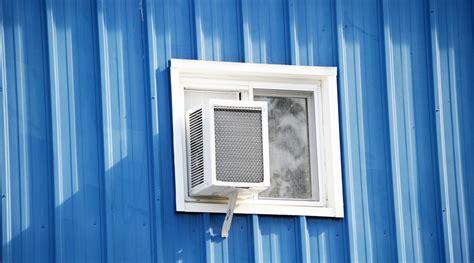 air conditioner  basement casement window   picture basement