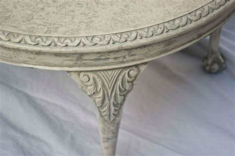 shabby chic coffee table vintage shabby chic round coffee table no 02 touch the wood